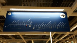 Design principles: IKEA wayfinding sign not logical
